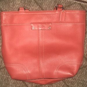 Coach ORANGE purse